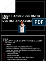 BAB  I FOUR-HANDED DENTISTRY.ppt