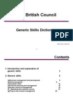 Generic Skills Dictionary-7