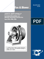 Fpac Fpda Axico Anti Stall Vaneaxial Fans Controllable Adjustable Pitch Catalog Ax351
