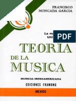 Teoria de La Musica Francisco Moncada
