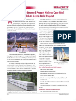 PreCast Technology for Greenfield Projects