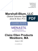 Menastil complete clinical trials - Pain relief that works.