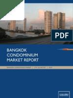 Bangkok Condominium Report Q4 2009 - Thailand Real Estate Research Reports