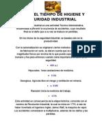 Linea Del Tiempo de Higiene y Seguridad Industrial
