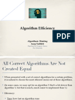 1 4 AlgorithmEfficiency