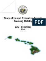 Training Catalog July Dec 2015