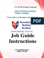 Job Guide Book 2014