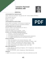 Curriculums Asamblea 2010