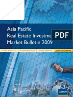 Asia Pacific Real Estate Investment Market Bulletin Q4 2009