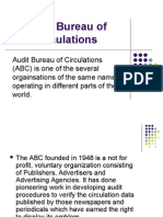Audit Bureau of Circulations IMP.
