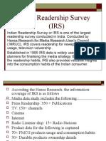 Indian Readership Survey IMP.