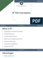 Ch1 1 R the True Basics