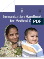 Routine Immunization Immunization Handbook for Medical Officers