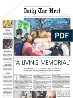 The Daily Tar Heel for March 5, 2010