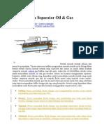Prinsip Kerja Separator Oil