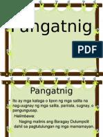 pangatnig