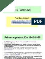 2 Primera, Segunda y Tercera Generación de Ordenadores