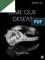 1. Dime Que Deseas - Deborah Hirt
