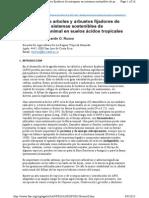 Utilización de Arboles y Arbustos Fijadores de Nitrógeno en Sis