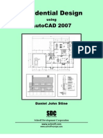Residential Design Using AutoCAD 2007