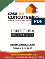 Apostila Preituradepoa 2015 Agenteadministrativo