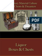 Drinking - Liquor Chests, Decanters & Flasks