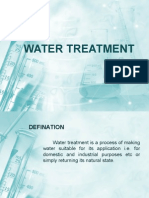 Water treatment presentation by fizzo