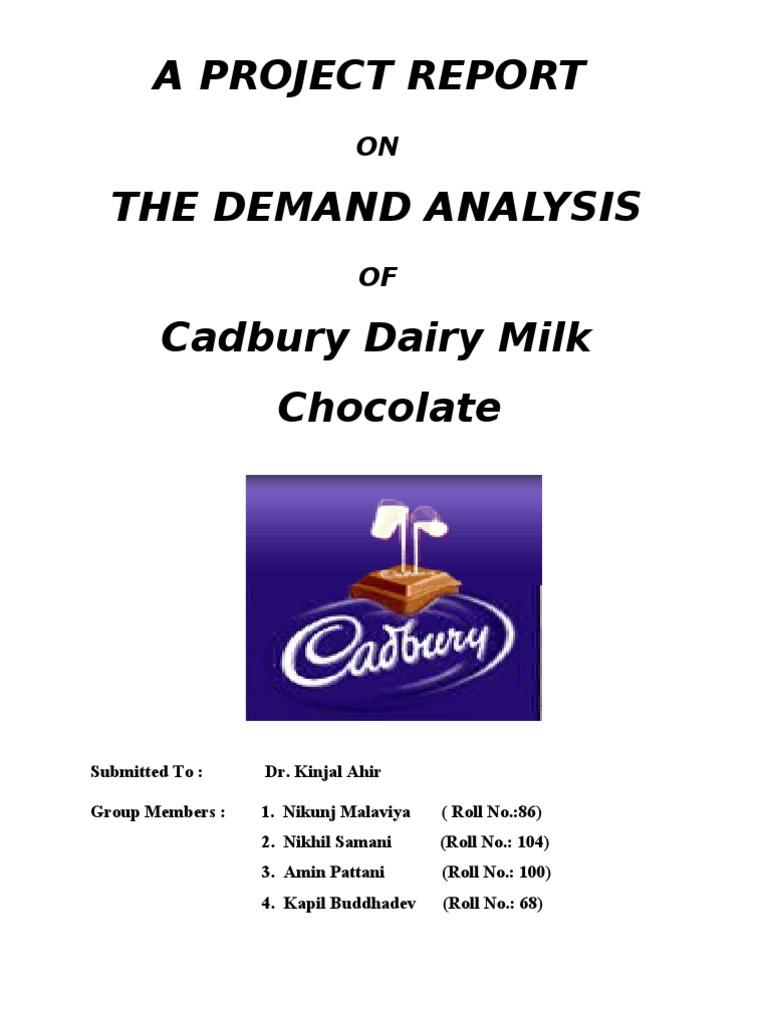 project on chocolate pdf
