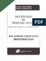 Diccionario Juridico de Derecho Del Trabajo y Seguridad Social