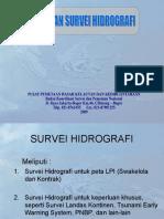 publikasi survei hidrografi PDKK-Bakosurtanal
