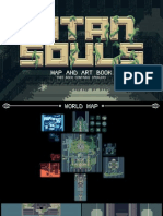 Titan Souls Map and Art Book