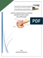 Paciente h.u- Pancreatitis Aguda