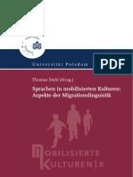 Sprachen in mobilisierten Kulturen