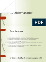 The Micromanager Presentation