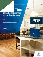 KPMG Enterprise Canadian Family Business Report