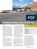 Rehabilitation of Hanger Street and Harvey Road