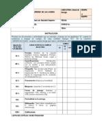 Lista de Cotejo Electricidad y Electronica Industrial