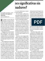 ¿Instituciones Significativas Sin Liderazgos Maduros?