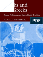 Greeks and Pre-Greeks - Aegean Prehistory and Greek Heroic Tradition Malestrom