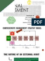 Management Strategic for external assessment