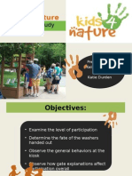 bsu presentation on kids 4 nature