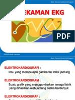 Perekaman EKG nursing material