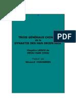 E. Chavannes - Trois généraux chinois de la dynastie des Han orientaux
