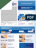Folheto de Aplicacao Zoladex