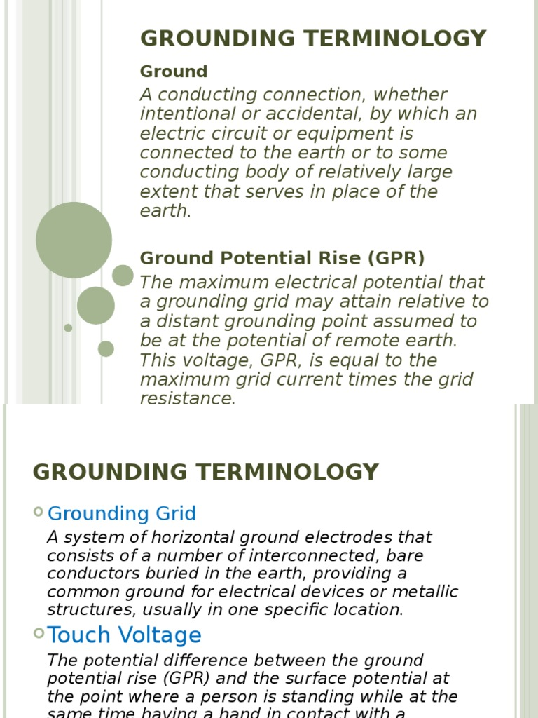 Earthing.ppt | Physics | Physics & Mathematics