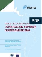 CSUCA Marco de Cualificaciones Para La Educación Superior Centroamericana