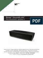 Bose Soundlink Mini 2-Manuale