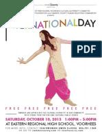 FLYER - International Day 2015