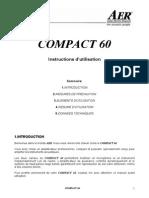 AER Compact 60 manuel