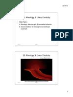 Lec.20.pptx Rheology & Linear Elasticity